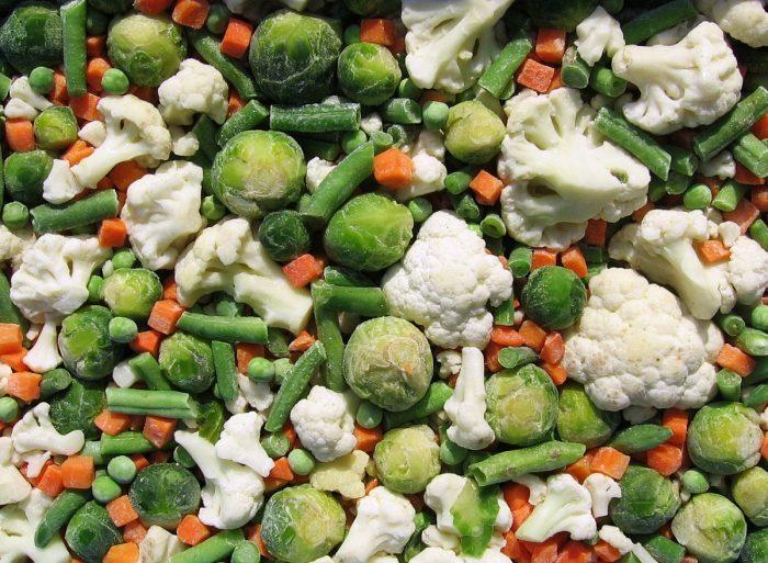Шоковая заморозка овощей в Ташкенте